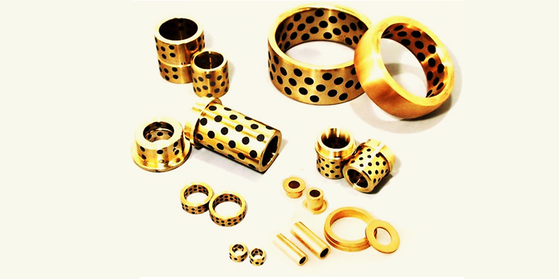 Componentes de Bronze e Aço
