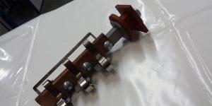 Porta Escovas, Anel Coletor, Cavaletes, Molas de Pressão Constante, Hastes isoladas para fixação, Bases Isolantes